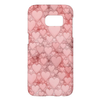 Hearts and Hearts, B Samsung Galaxy S7 Case