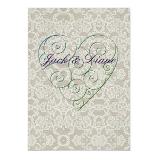 Hearts and Lace Card