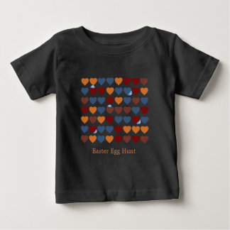 Hearts and Little Egg Woman Baby T-Shirt