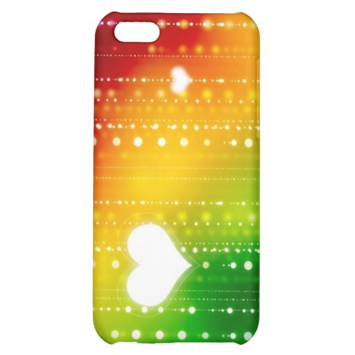 Hearts and Pearls iPhone 5C Cover