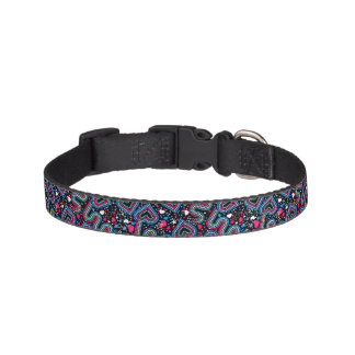 Hearts and sequins pet collar