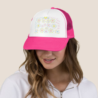 Hearts and Shapes Trucker Hat