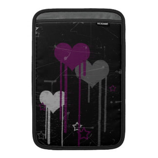 Hearts and Stars macbook air sleeve 11 inch