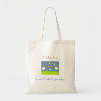 Hearts and Stars Tote Bag