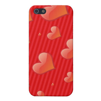 HEARTS AND STRIPES iPhone 5 CASES
