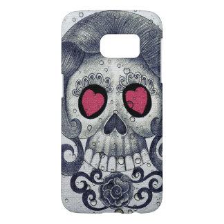 Hearts and Sugar Skull Samsung Case