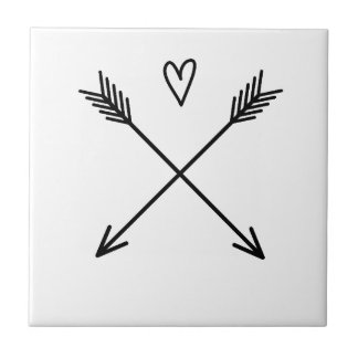 Hearts & Arrows Ceramic Tile