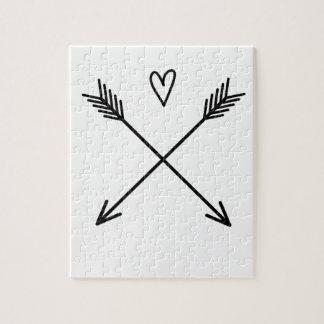Hearts & Arrows Jigsaw Puzzle