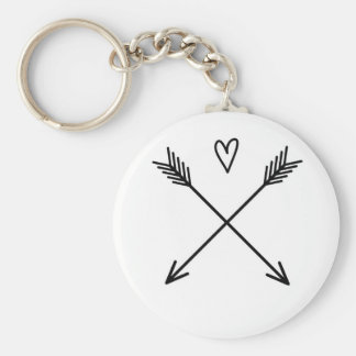 Hearts & Arrows Keychain