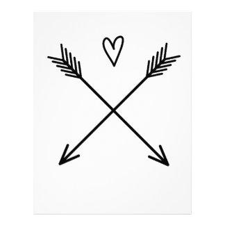 Hearts & Arrows Letterhead