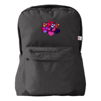 Hearts Back Pack