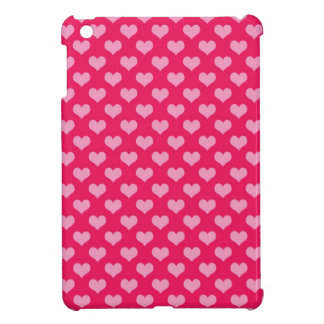 Hearts Background Wallpaper Pink iPad Mini Cover