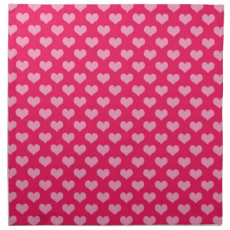 Hearts Background Wallpaper Pink Napkin