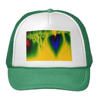 Heart's Beat Mesh Hats