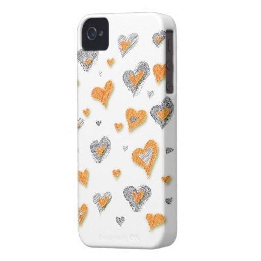 Hearts BlackBerry Bold Case