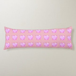 Hearts Body Pillow