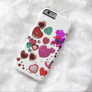 Hearts by the Pound Barely There iPhone 6 Case