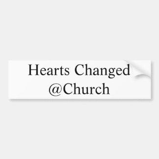 Hearts Changed @Church sticker