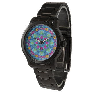 Hearts Colorful  Vintage Mens Watch
