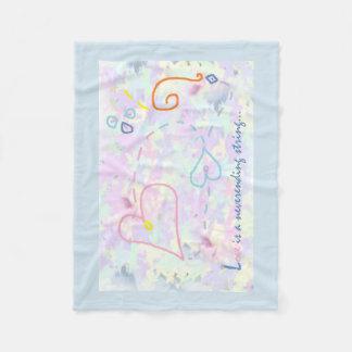 Hearts Design Blanket