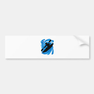Hearts Dimension Bumper Sticker