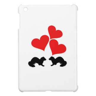 Hearts & Ferrets iPad Mini Cover