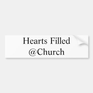 Hearts Filled @Church sticker