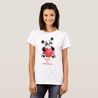 Hearts for Homeschool Panda Bear T-Shirt