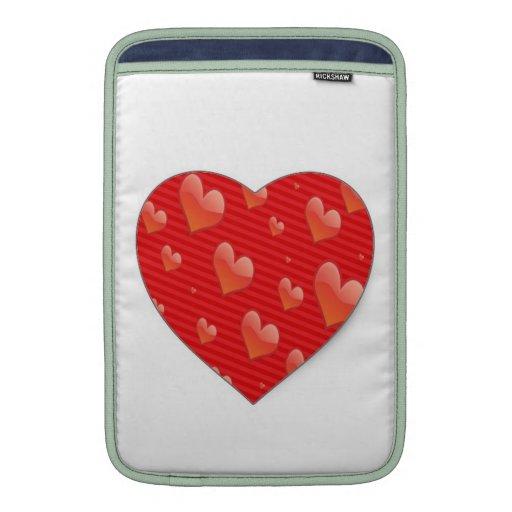 """Hearts for You"" MacBook Air 11"" Sleeve MacBook Sleeve"