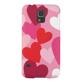 Hearts Galaxy S5 Case