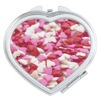 HEARTS GALORE mirror! Makeup Mirrors