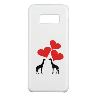 Hearts & Giraffes Case-Mate Samsung Galaxy S8 Case