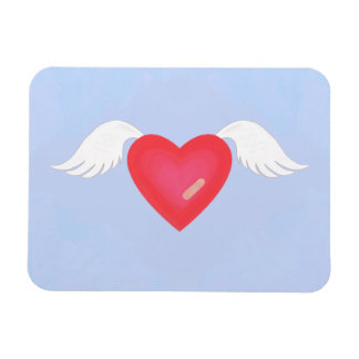 Hearts Heal 3 Rectangular Photo Magnet