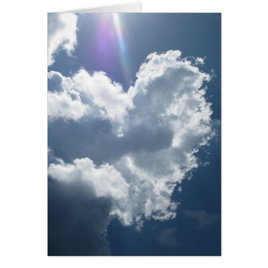 Hearts in the Sky (1) Greeting Cards