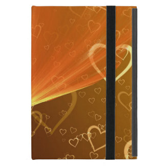 Hearts iPad Mini Case with No Kickstand