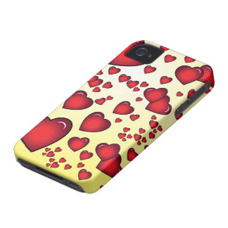 Hearts iphone 4 case