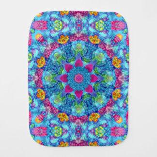 Hearts Kaleidoscope     Burp Cloth