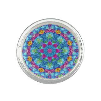 Hearts Kaleidoscope  Custom Rings