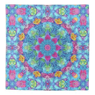 Hearts Kaleidoscope   Duvet Covers