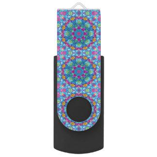 Hearts Kaleidoscope     USB  Flash Drive