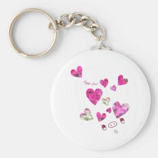 Hearts Key Chain
