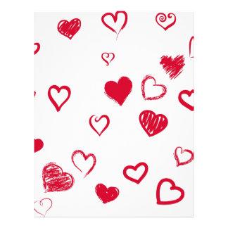 hearts letterhead