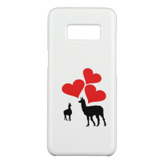 Hearts & Llamas Case-Mate Samsung Galaxy S8 Case