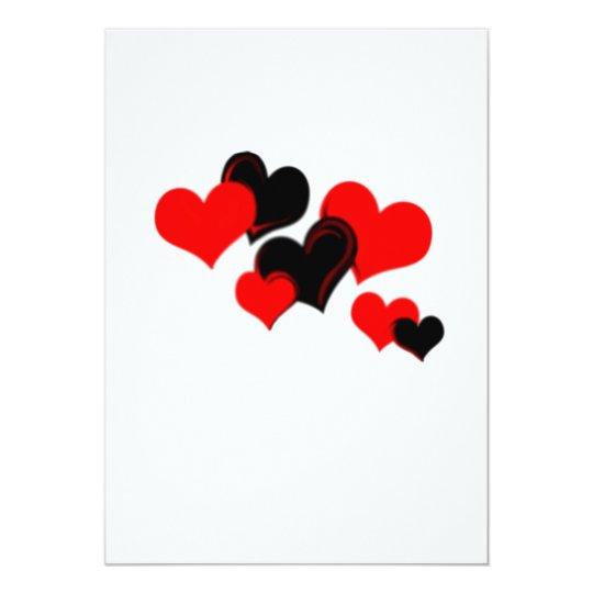Hearts Love Card