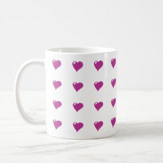 Hearts Love Purity Mug