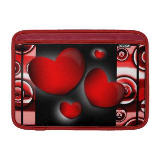 Hearts Macbook Air Rickshaw Sleeve Sleeve For MacBook Air
