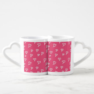 Hearts Mug Set - Add Your Own Photo & Text