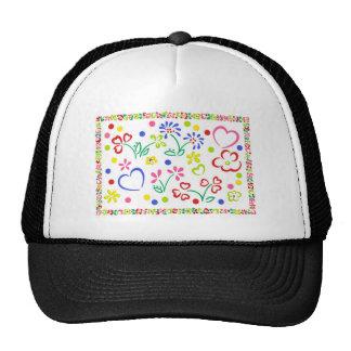 Hearts 'n' Flowers Trucker Hat