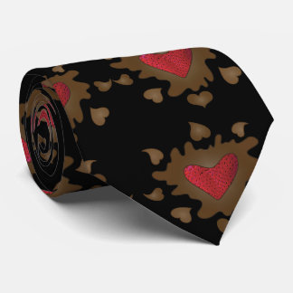 Hearts of Chocolate Mens Tie