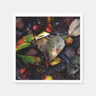 Hearts of Fall Disposable Napkins